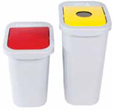 compact recycle bins
